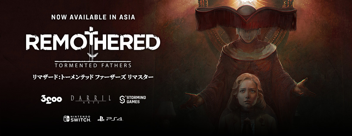 Remothered Asia Launch 3goo