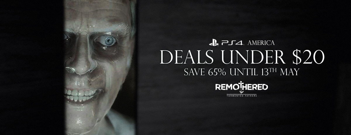 Remothered PS4 Deals Under $20